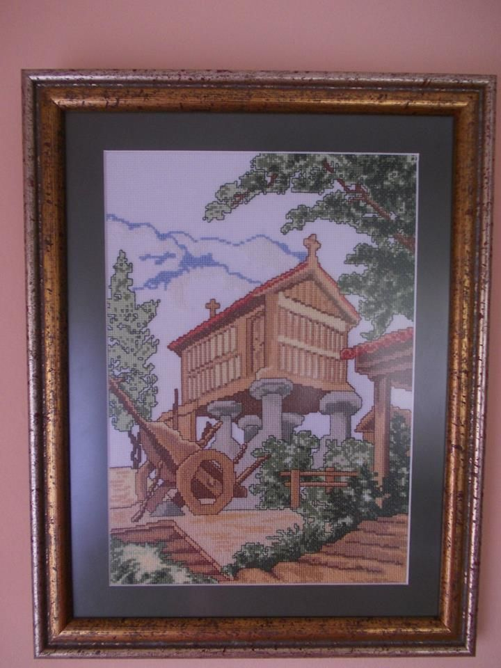 Horreo gallego, hecho por mi(Rosario Bellón)