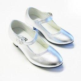 Zilveren Flamengo schoenen meisjes