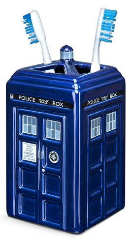 Doctor Who TARDIS Teen Gifts:  Toothbrush Holder @ Amazon for their bathroom