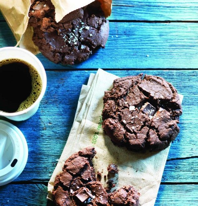 Tacofino's chocolate diablo cookie recipe- Chatelaine.com with just a tickle of cayenne