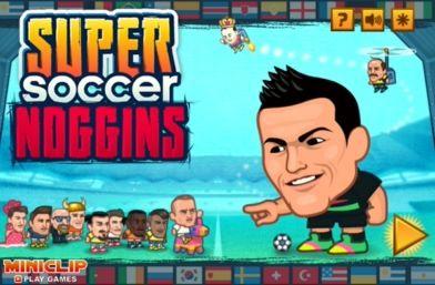 SUPER SOCCER NOGGINS GAME. SUPER SOCCER STAR