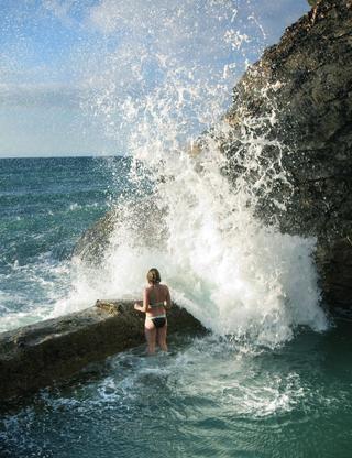 Wild Swim: Porthtowan Tidal Pool - to visit Summer 2012