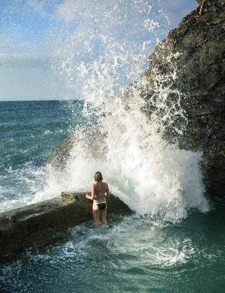 Wild Swim: Porthtowan Tidal Pool - to visit Summer 2012