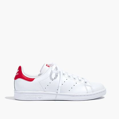 Madewell+-+Adidas®+Unisex+Stan+Smith™+Lace-Up+Sneakers