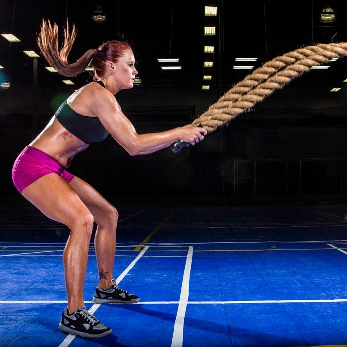 7 Heavy Rope Exercises to Slam, Strengthen, and Sculpt. Shape.com
