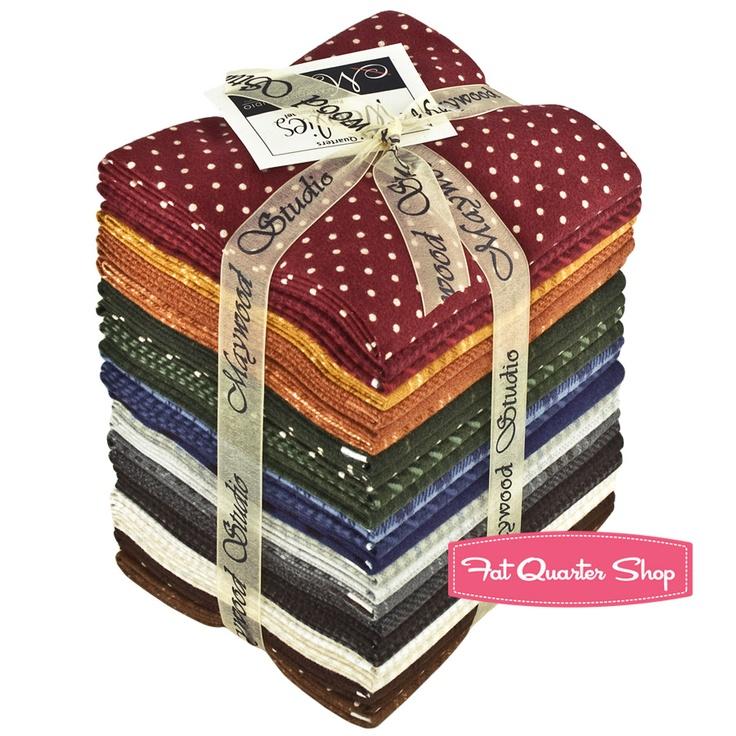 Flannel bundle from Maywood Studio.