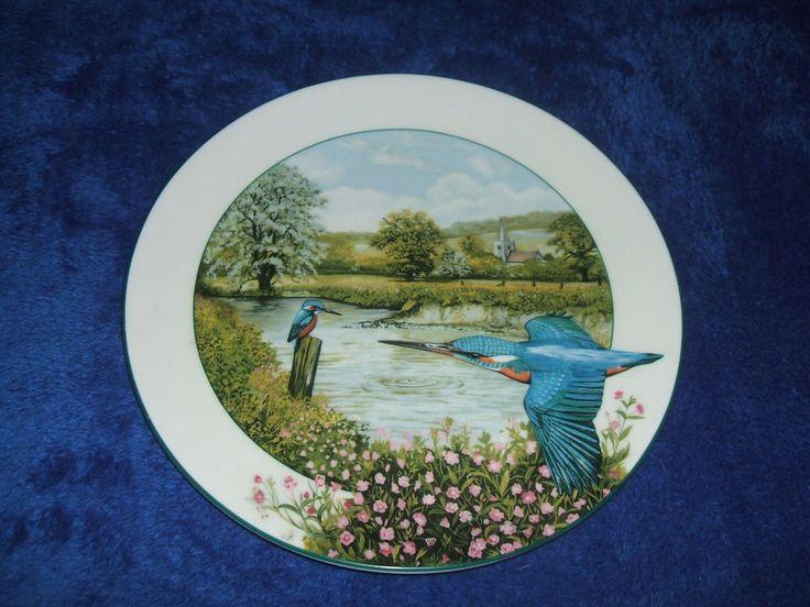 #vintage #ebaysales Royal Doulton Collectors Plate 1989 -THE RIVERSIDE KINGFISHER Ken Wood