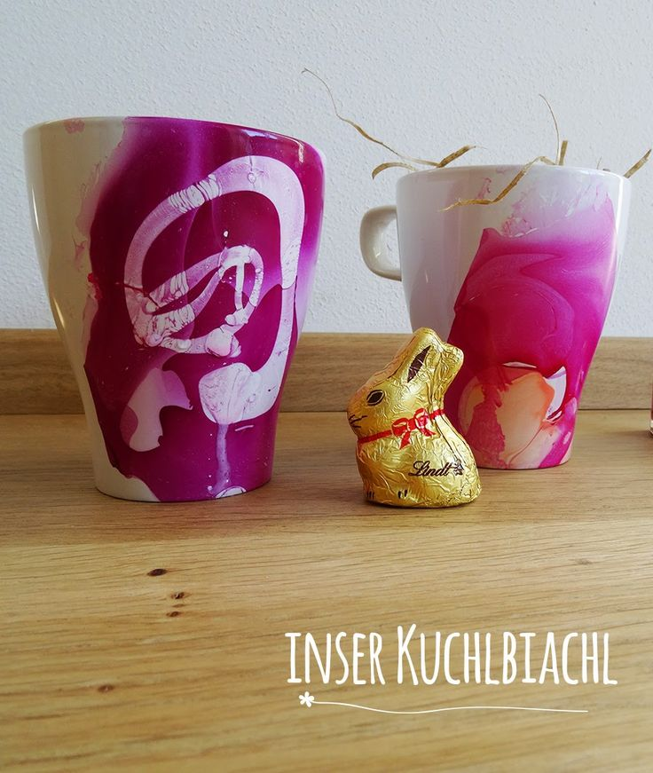 Happy Easter - meine modern-bunte Osternester.