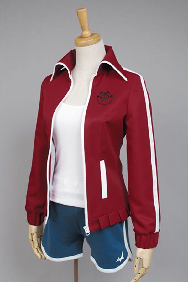 Details about  /Dangan-ronpa Danganronpa Aoi Asahina Cosplay Costume Outfit Coat Jacket Suit