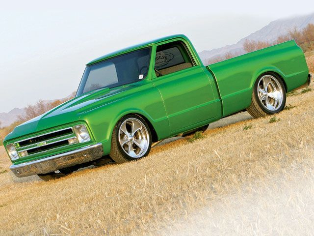 Beautiful old Chevy truck!  This would look great with som old school hot rod wheels, love the color too
