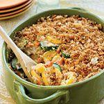 Summer Squash Casserole - http://www.myrecipes.com/recipe/summer-squash-casserole-10000001731450/