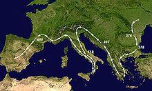 Wisigoths - Wikipedia, the free encyclopedia