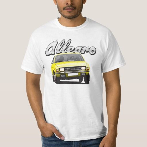 Austin Allegro UK DIY light yellow  #austinallegro #allegro #austin #leyland #british #uk #automobile #car #tshirt #print #illtustration #zazzle #70s #classic #yellow