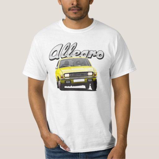 Austin Allegro UK DIY light yellow  #austinallegro #allegro #austin #leyland #british #uk #automobile #car #tshirt #print #illtustration #zazzle #70s #classic #yellow
