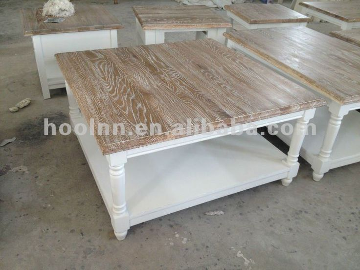 French white wash coffee table for living room hl913 90s whitewash furniture whitewash and Whitewash coffee table