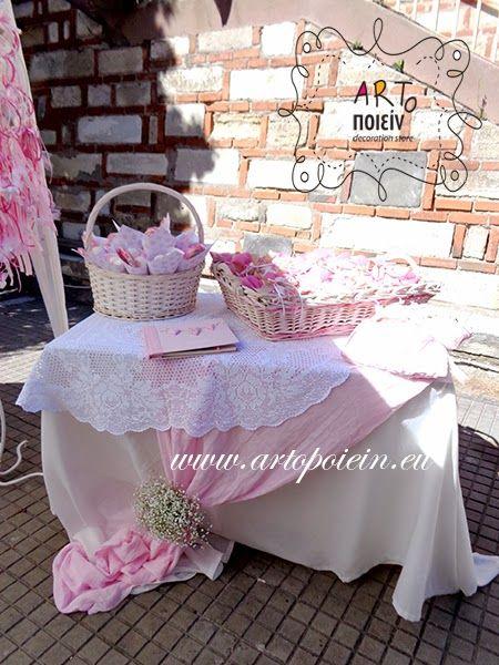 ARTοποιείν decoration store γάμος βάπτιση: Ροζ και Φούξια. Καθαρά κοριτσίστικη υπόθεση!