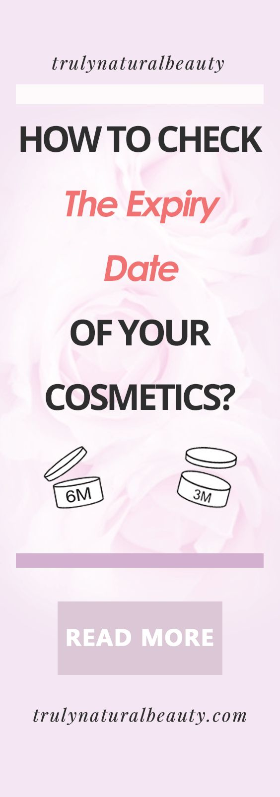 How To Check The Expiry Date Of Your Cosmetics Pinterest, PAO date, expiry date, what does expiry date mean, cosmetic expiry date check, checkcosmetics, truly natural beauty, green beauty blogger, natural beauty line, organic beauty cosmetics, expired cosmetics, expired lipstick, expired perfume