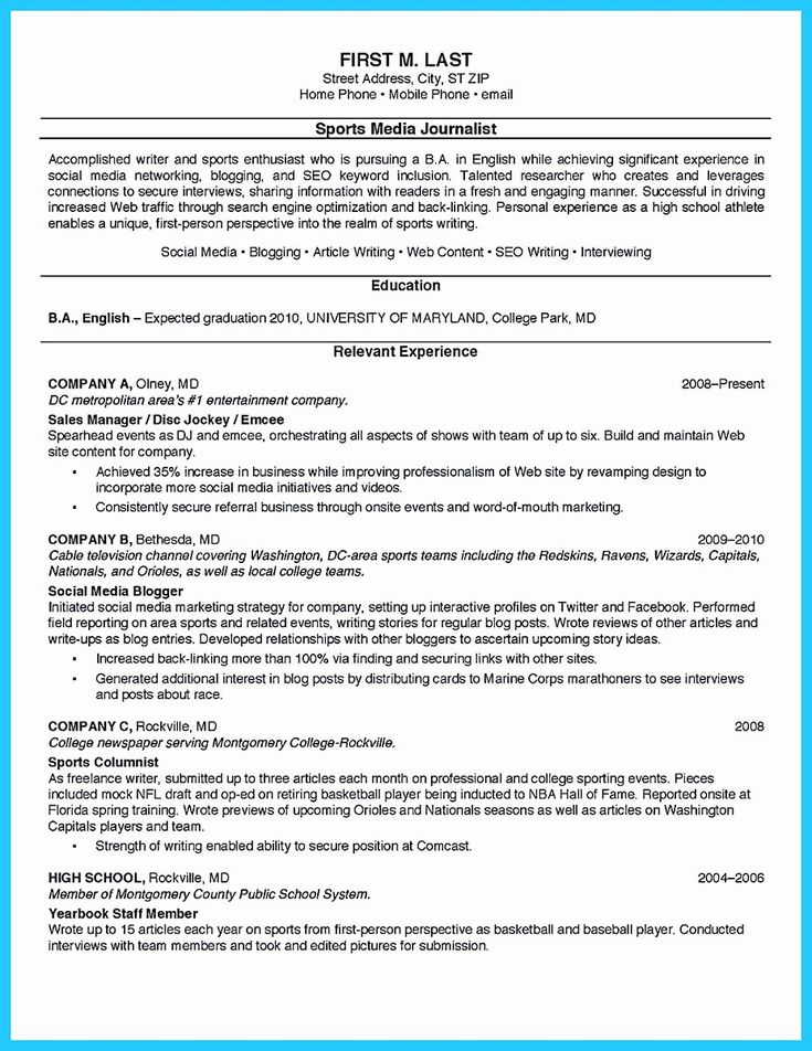 25 college student resume template in 2020 student