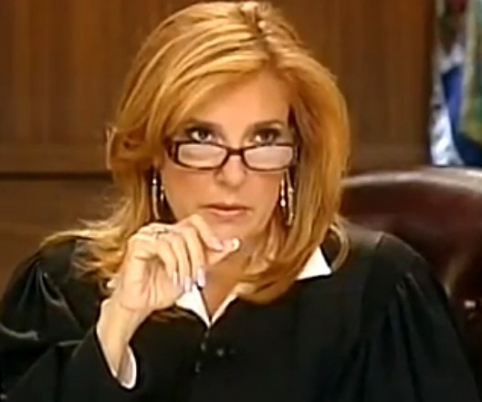 Judge Marilyn Milian. One of the best judges on TV. She has personality, wit, & the final say-so.