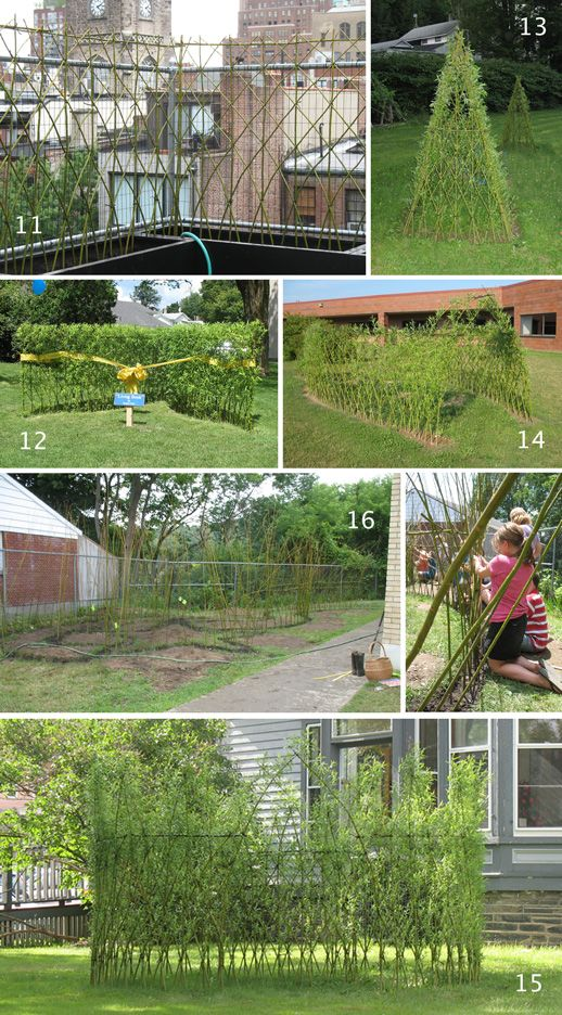 Bonnie Gale Living Willow Structures Garden LivingLiving