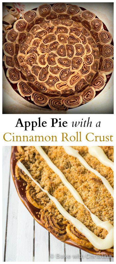 ... Cinnamon Roll Crust on Pinterest | Apple Pies, Dutch Apple Pies and