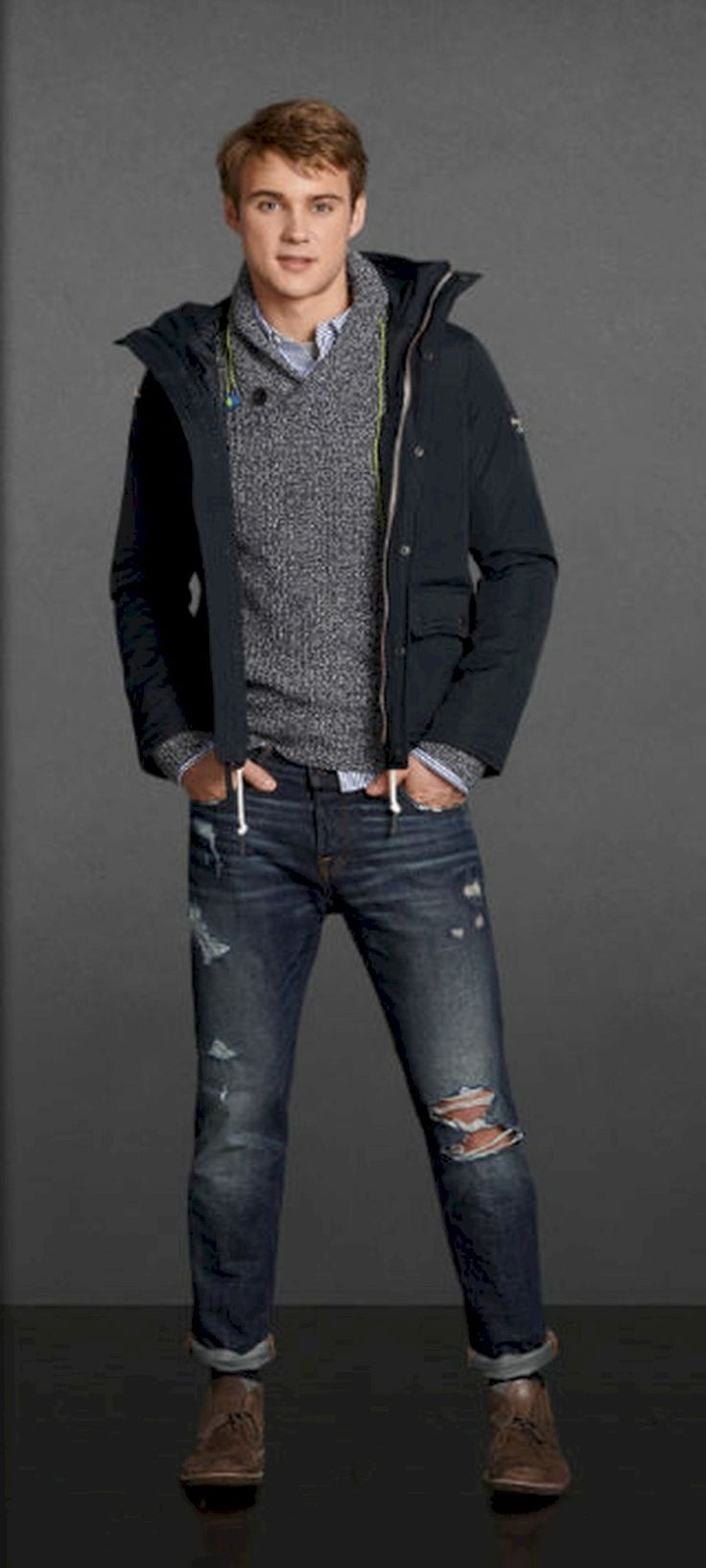 awesome 36 Men's Fashion Casual Jeans Outfits https://attirepin.com/2018/02/18/36-mens-fashion-casual-jeans-outfits/