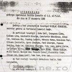 STENOGRAMELE false şi presupus originale de la şedinţa CPEx al CC al PCR din 17 decembrie 1989. Plus: TELECONFERINŢELE lui Ceauşescu. FOTO/DOC şi AUDIO/VIDEO