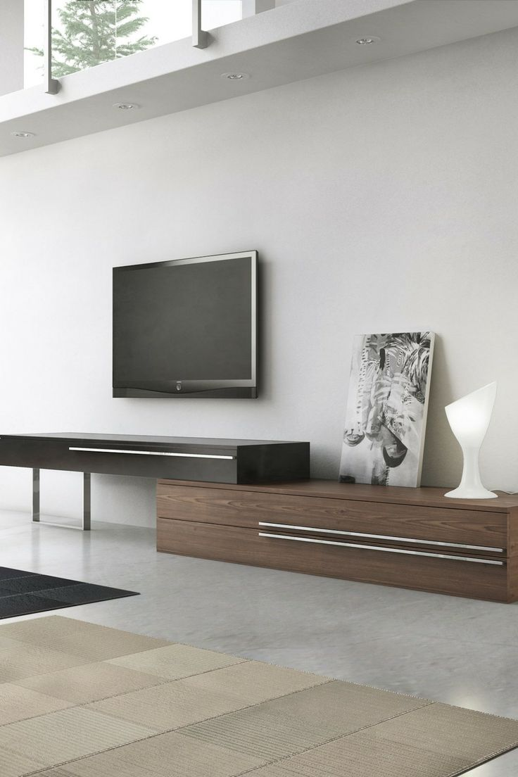 best tvstand images on pinterest  entertainment modern tv  - gramercy tv stand  walnutebony