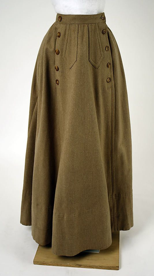 Ensemble, Cycling ca. 1900  worn with matching bloomers underneath