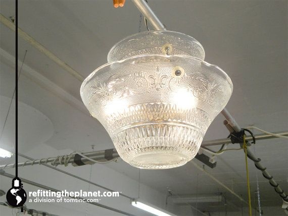 Hey, I found this really awesome Etsy listing at https://www.etsy.com/listing/178106447/punch-bowl-ceiling-fixture