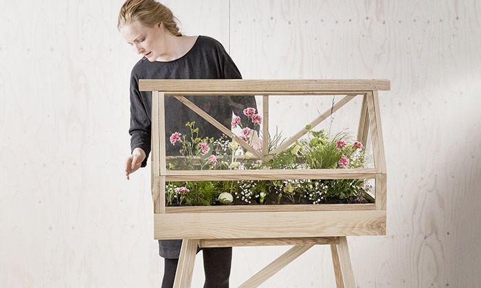 Atelier 2+ navrhl domácí skleník na květiny či bylinky