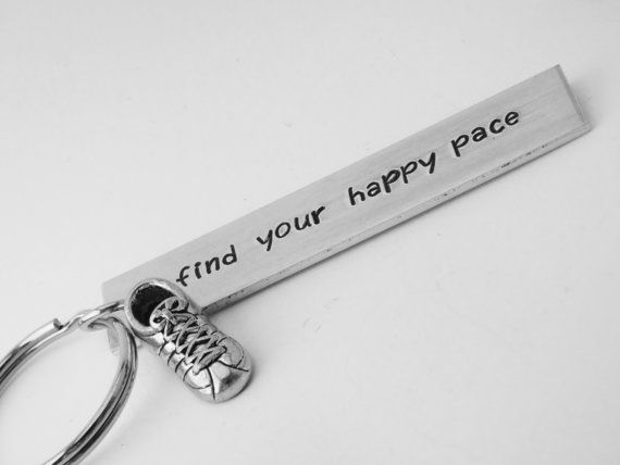 running keychain cross-country running keyring by QuipsAndGrins