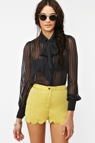 Dotted Line blouse