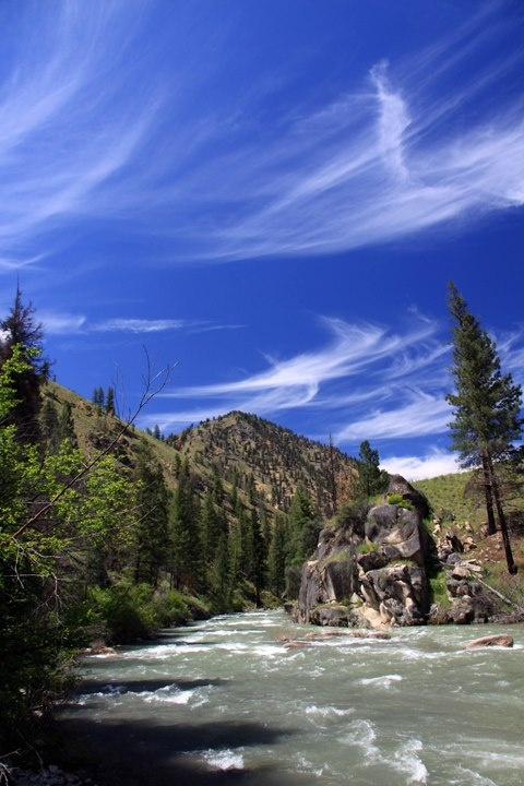 Middle Fork Salmon River in Idaho