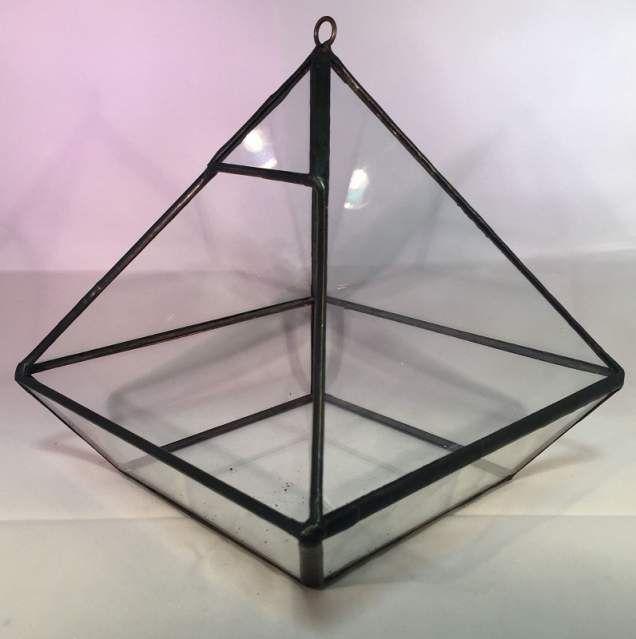Geometric terrarium piante natale arredo vaso casa design