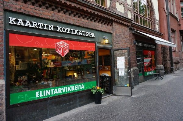 This traditional grocery store is a place to experience. The shopkeeper and other staff are always friendly and will greet you with a smile. The store is under 100 square meter but contains everything you need and more. Photo: Veera Teppola. #Helsinki #Finland #Food #GroceryStore #KaartinKotikauppa
