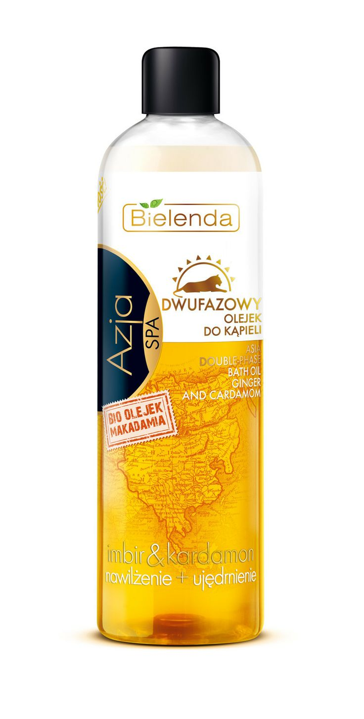 Bielenda ASIA double-phase bath oil 400 ml BI194324 | Visagist
