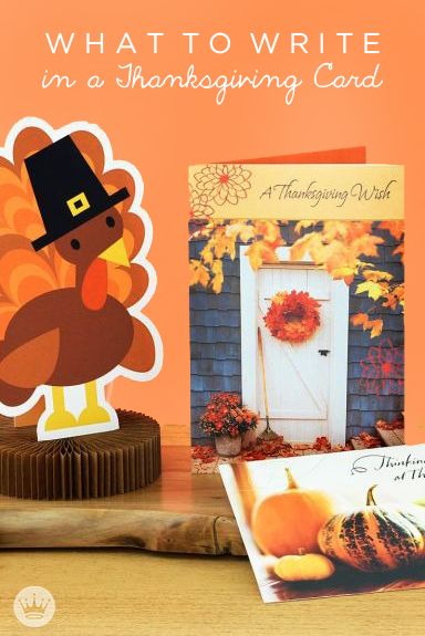 What to Write in a Thanksgiving Card | Send warm Thanksgiving wishes with these message ideas and writing tips from Hallmark.