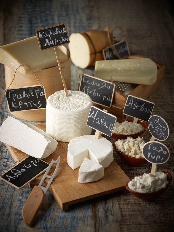 Beyond Feta: A primer of greek cheeses. A good list.
