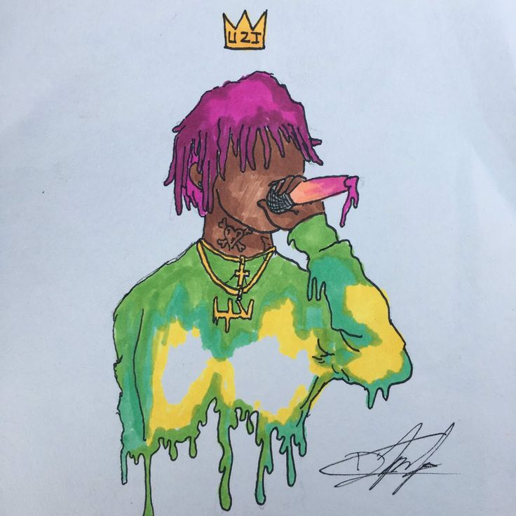 Image result for lil uzi vert cartoon wallpaper Lil uzi