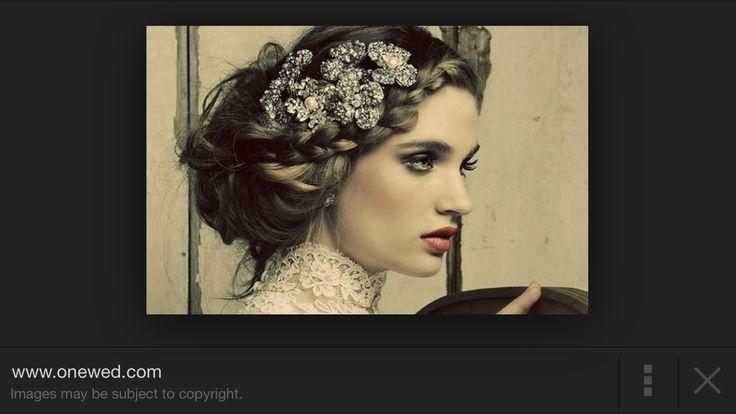 Braid and headdress