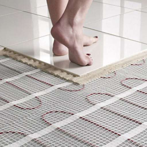 Underfloor Heating Bathroom And Basement