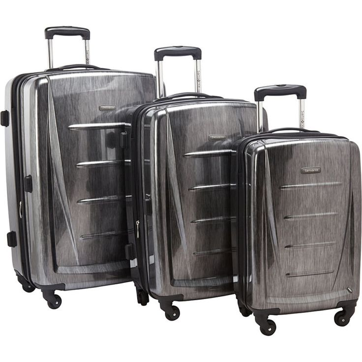 His and hers luggage. Samsonite Winfield 2 Fashion 3-Piece Hardside Luggage #ad