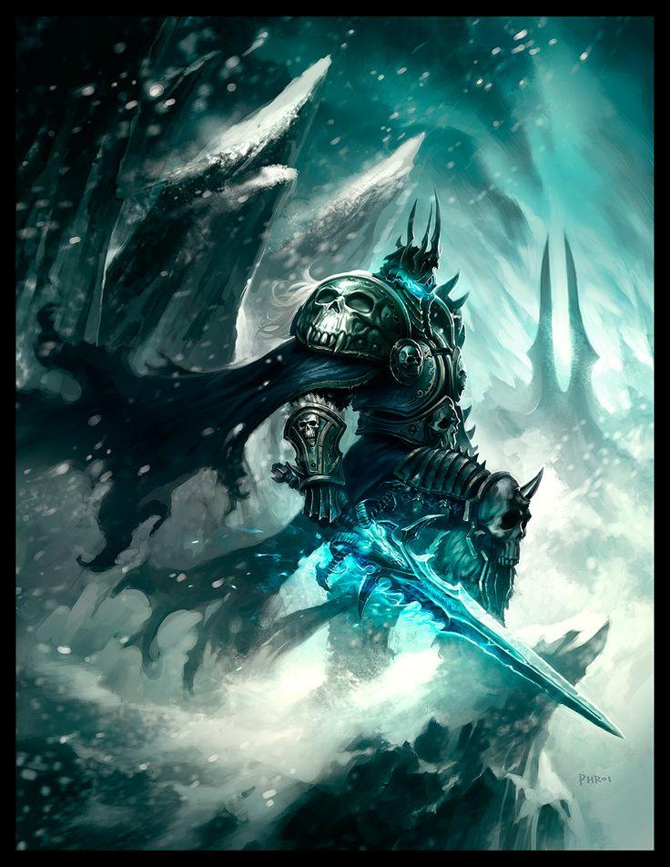 The Lich King #Phroilan #WorldOfWarcraft