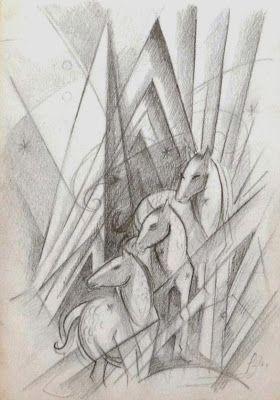 Franz Marc - Horses