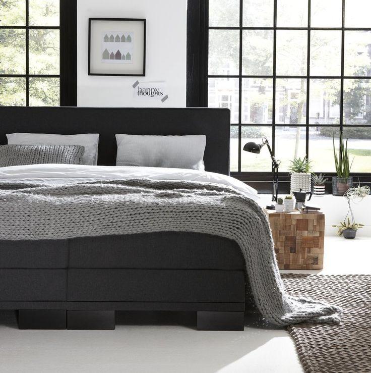 Boxspring Sense 120 E | Swiss Sense #bedroom #slaapkamer