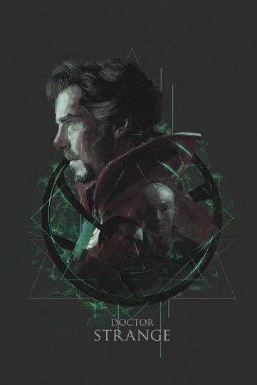 Doctor Strange - plakat premium