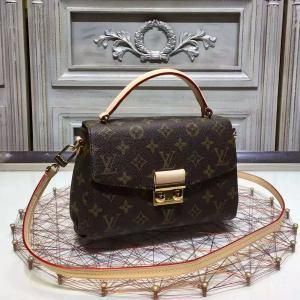 67bb78fd247 Imitation Louis Vuitton Monogram Canvas Croisette M41582