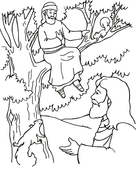 bible luke coloring pages - photo#22