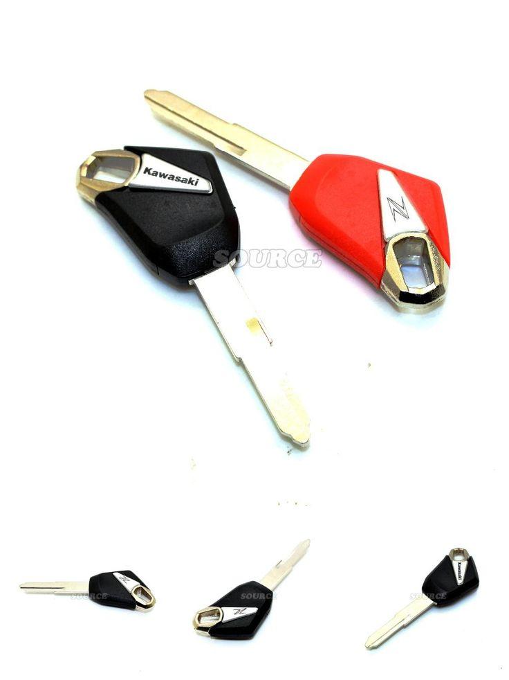 [Visit to Buy] Motorcycle motorcycle key blank embryo Motorcycle Blank Key Uncut Blade For kawasaki 1400 zx-10r zx-6r zzr1400 ninja zx-14 #Advertisement